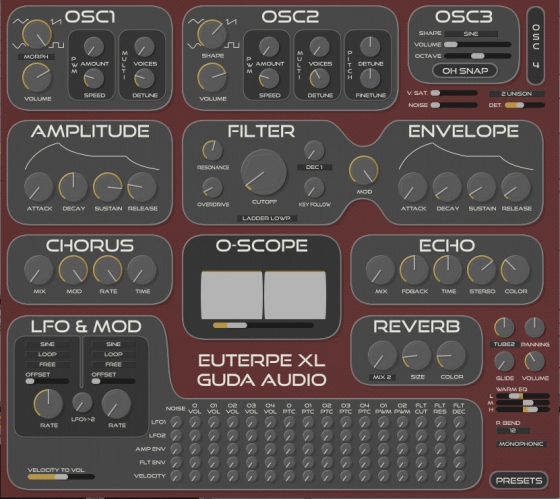 Guda Audio Euterpe XL v1.3 Regged (WIN OSX)-R2R