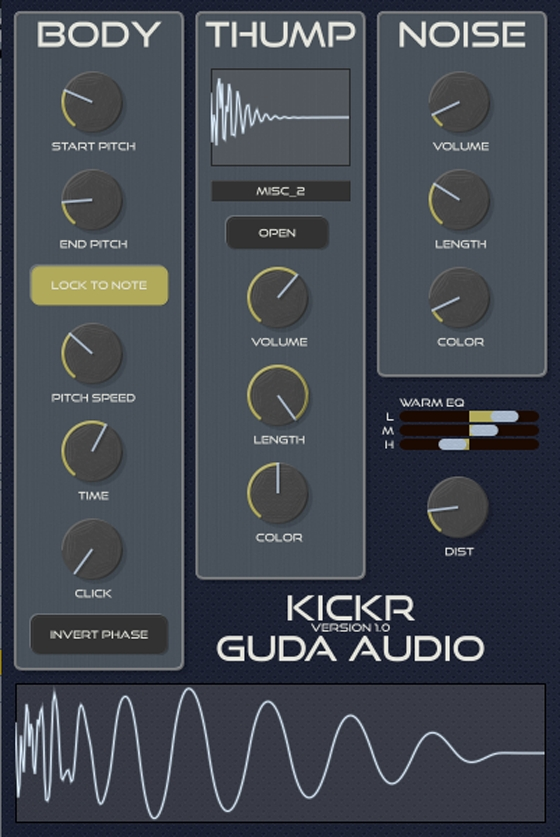 Guda Audio KickR v1.5 WiN/OSX Incl.Keygen-R2R