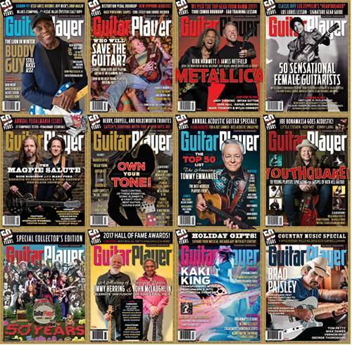 Guitar Player - 2017 Full Year Issues Collection