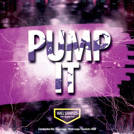 Hall Samples Pump It WAV MiDi