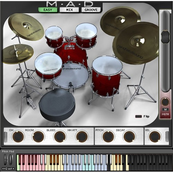 Handheld Sound MAD Drum Kit Series MERRY XMAS