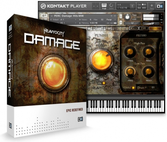 Heavyocity Damage v1.5 KONTAKT UPDATE