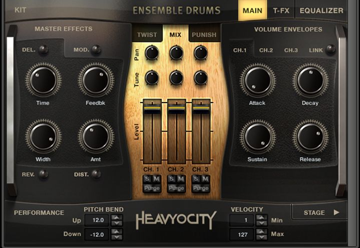 Heavyocity Master Sessions Ensemble Drums Collection KONTAKT