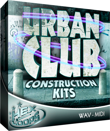 Hex Loops Urban Club Kits WAV MIDI SF2