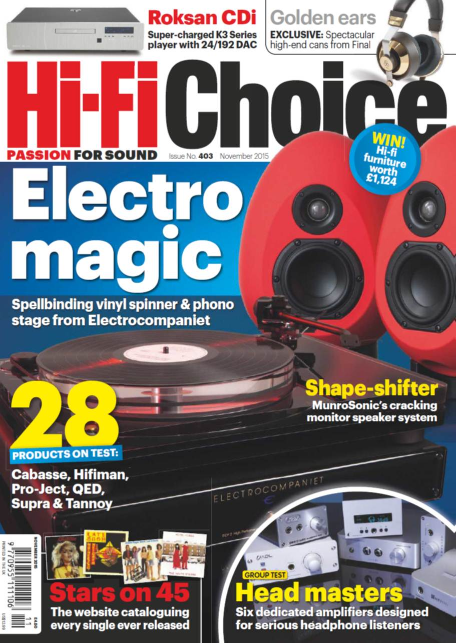 Hi-Fi Choice November 2015