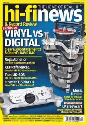 Hi-Fi News April 2016