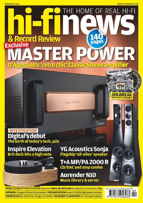 Hi-Fi News March 2016