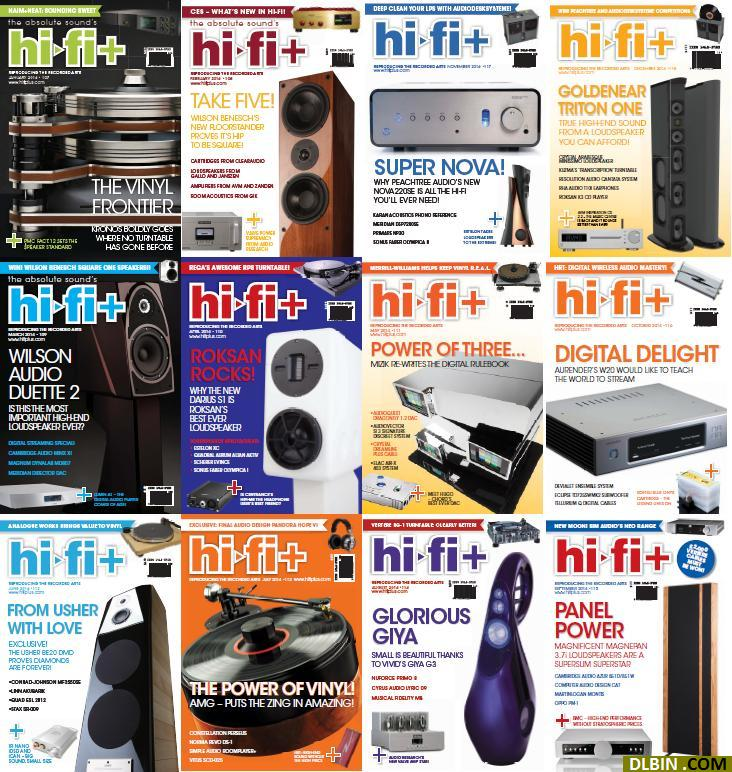 Hi-Fi Plus Magazine 2014 Full Collection