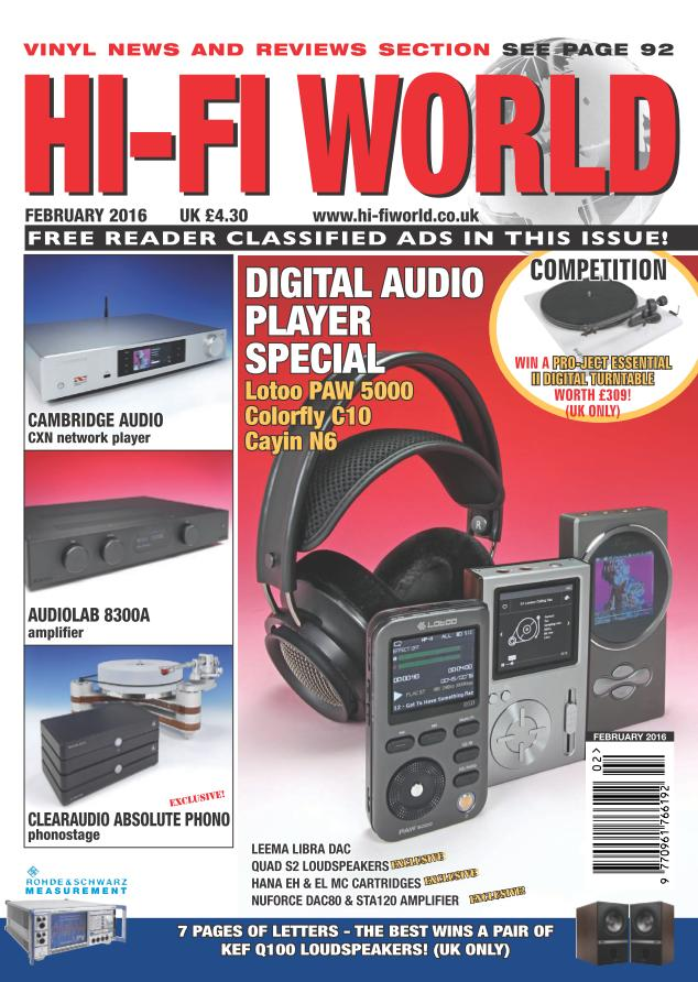 Hi-Fi World February 2016
