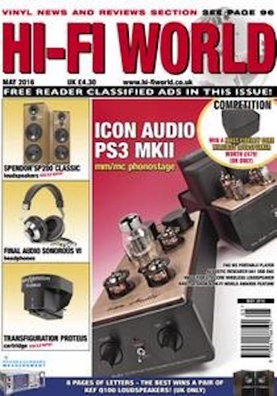 Hi-Fi World May 2016