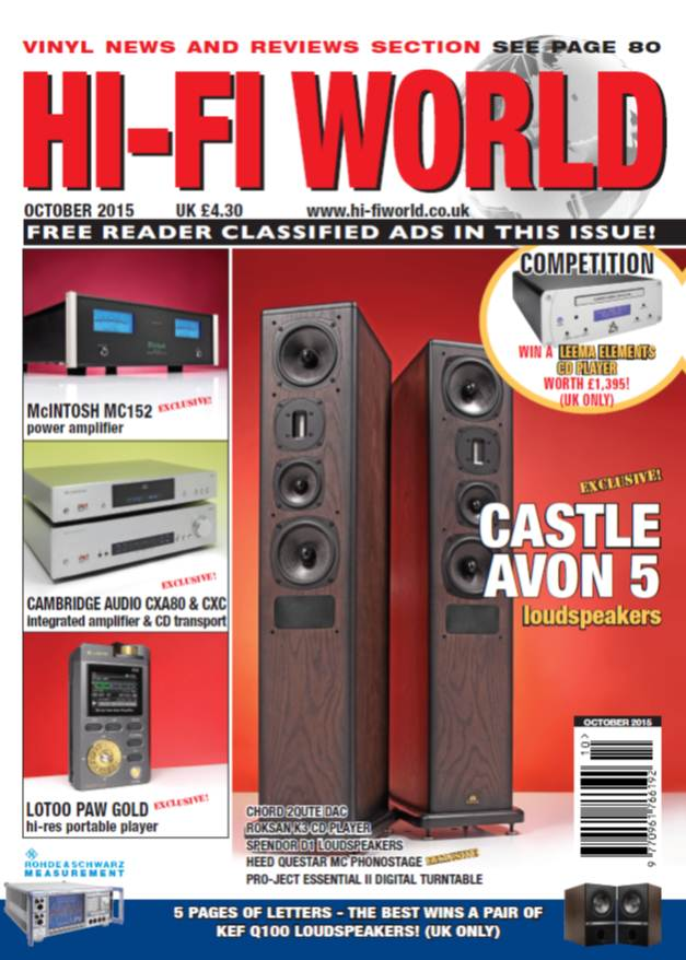 Hi-Fi World October 2015