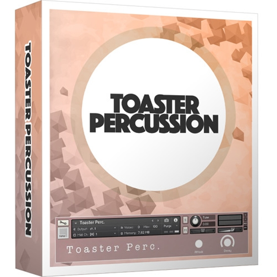 High and Low Toasted Percussion Sounds KONTAKT