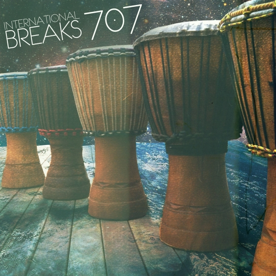 Hip Hop Drum Samples‎ International Breaks 707 WAV