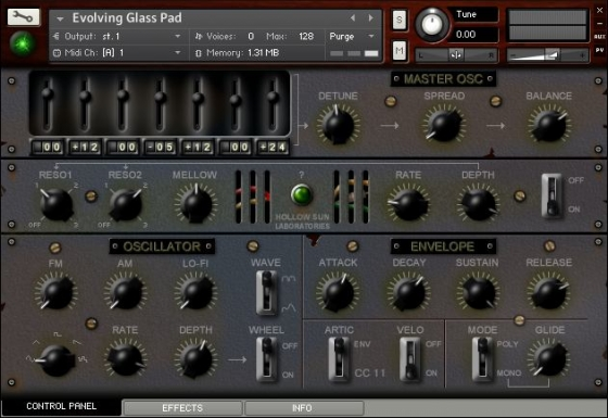Hollow Sun Music Laboratory Machines 130p KONTAKT