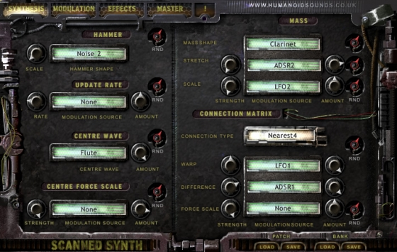 Humanoid Sound Systems Scanned Synth Pro v2.1.3 WiN/MAC-UNION