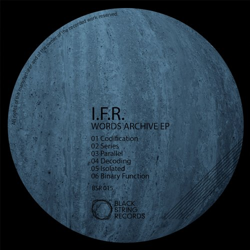 I.F.R. - Words Archive EP [BSR015]