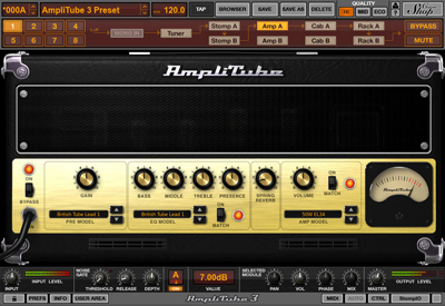 IK Multimedia AmpliTube 4 v4.0.1 WiN