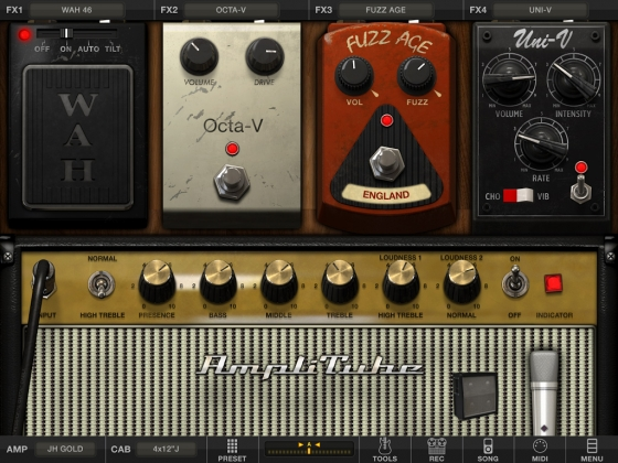 IK Multimedia AmpliTube CS v3.14b