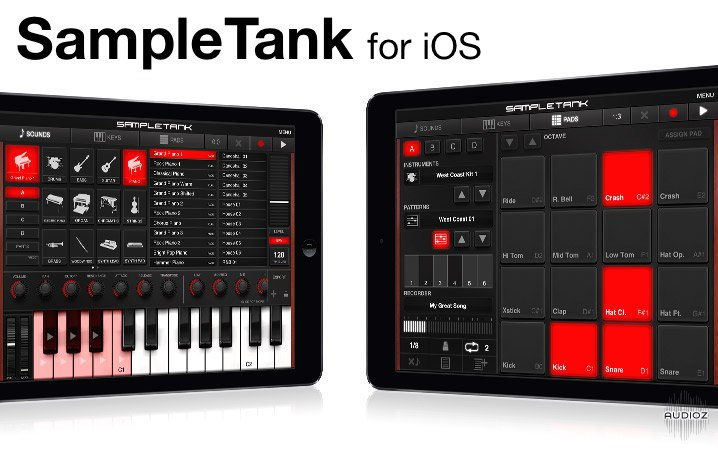 IK Multimedia SampleTank v1.8.5 iPhone iPad iPod Touch