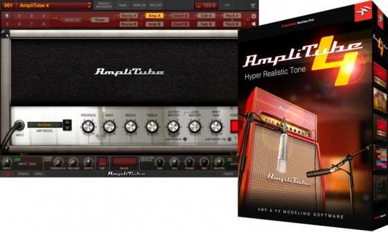 IK.Multimedia AmpliTube 4 Complete v4.0.2 WiN/OSX Incl Keygen-R2R