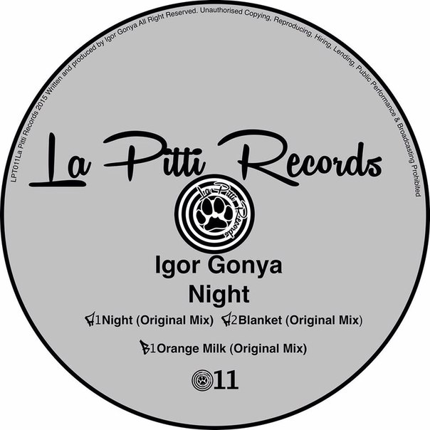 Igor Gonya - Night [LPT 011]