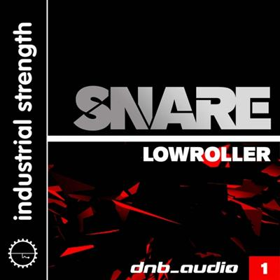 Industrial Strength DnB Audio Snare WAV NI Battery 4-AUDIOSTRiKE