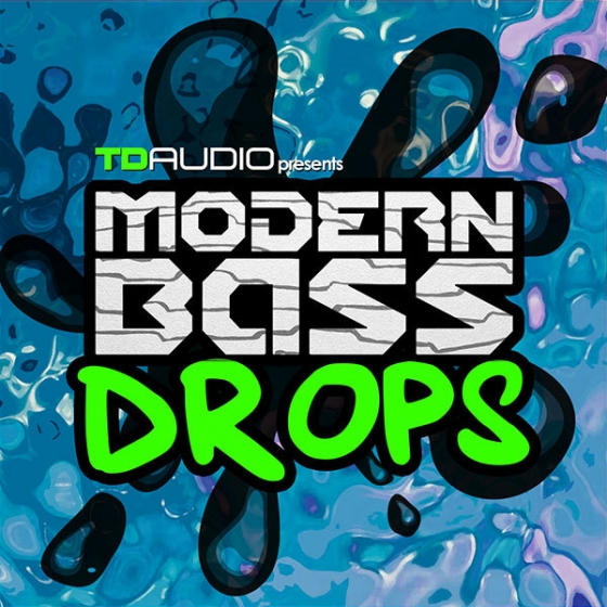 Industrial Strength TD Audio Modern Bass Drops WAV MiDi NI Battery