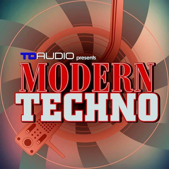 Industrial Strength TD Audio Modern Techno WAV MiDi SPiRE