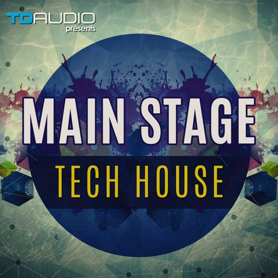 Industrial Strength TD Audio Presents Mainstage Tech House WAV MiDi BATTERY 4 Massive Presets