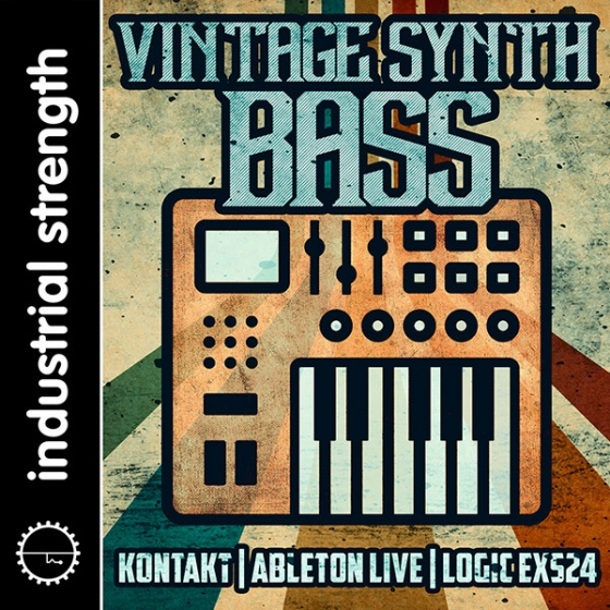 Industrial strength vintage synth bass multiformat audiostrike for Classic house synths