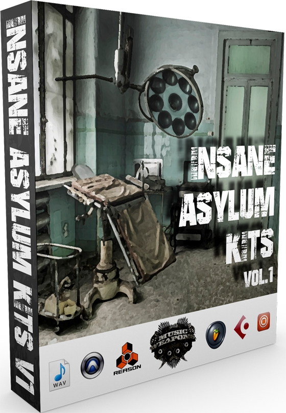 Insane Asylum Kits Vol.1 WAV