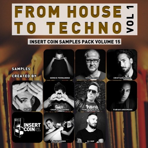 Insert Coin From House to Techno Vol 1 WAV