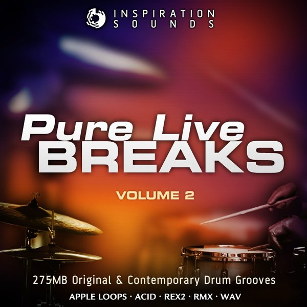 Inspiration Sounds Pure Live Breaks Vol.2 ACiD WAV AiFF REX-KRock