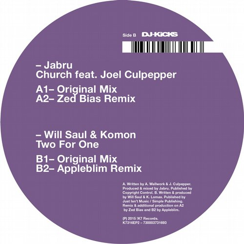 Jabru, Will Saul, Komon - Two For One [K7316EP2]