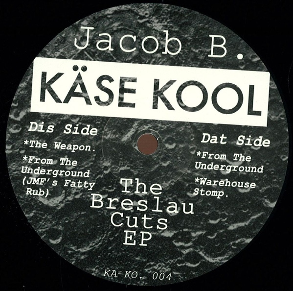 Jacob B – The Breslau Cuts EP [KA-KO. 004]