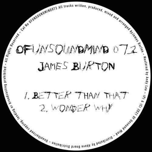James Burton – Summer Disco EP [OFUNSOUNDMIND056]