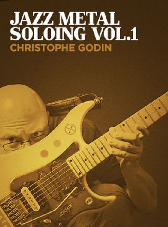 Jazz Metal Soloing Vol.1 with Christophe Godin