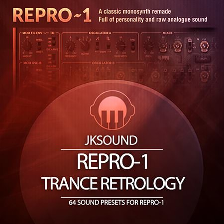 Jksound Trance Retrology for u-he Repro-1 H2P