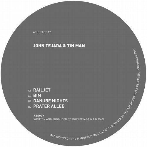 John Tejada & Tin Man – Acid Test 12 [ASD029]