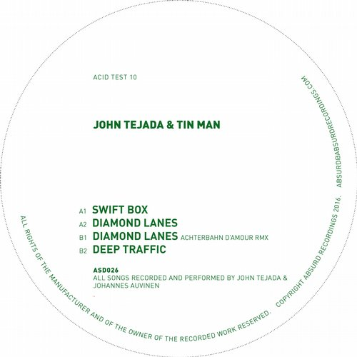 John Tejada, Tin Man – Acid Test 10 [ASD026]