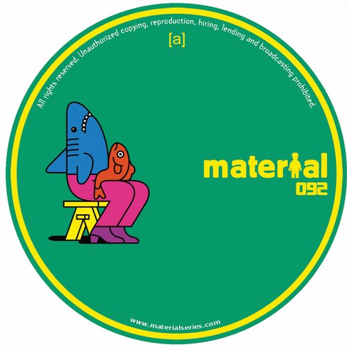 Josh Butler - WANNA SAY EP [MATERIAL092]