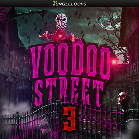 Jungle Loops Voodoo Street 3 WAV MiDi