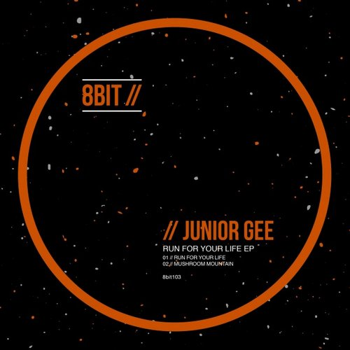 Junior Gee – Run for Your Life EP [8BIT103]