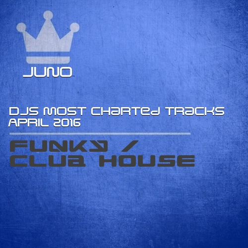 Juno djs most charted tracks april 2016 funky club house for Juno deep house