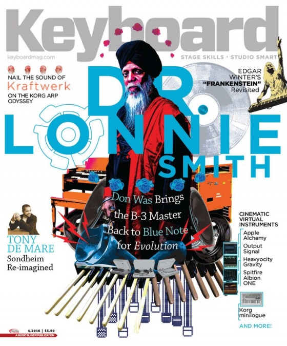 Keyboard Magazine April 2016