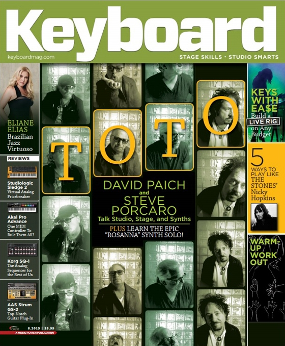 Keyboard Magazine - August 2015