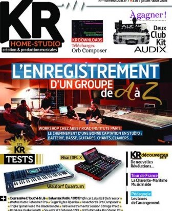 Keyboard Recording Home-Studio juillet 2018