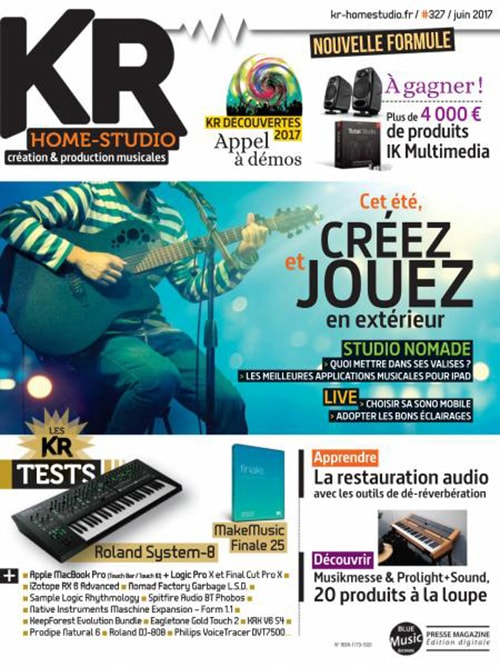 Keyboards Recording Home Studio N.327 - Juin 2017