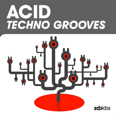 Kick Back Samples Acid Techno Grooves MULTiFORMAT DVDR