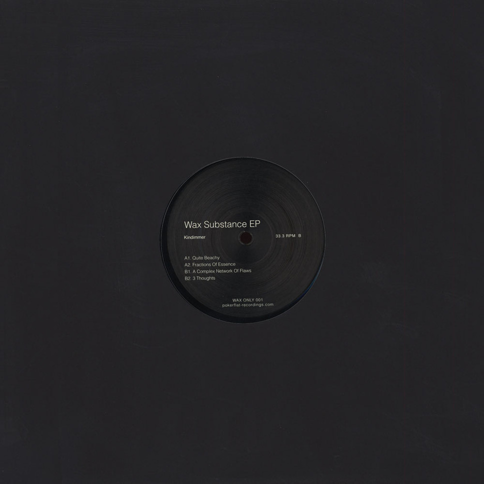 Kindimmer – Wax Substance EP [WAXONLY001]